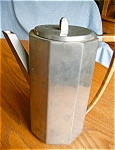Click here to enlarge image and see more about item pewter50503: Noble Pewter Pitcher Vintage