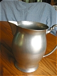 Click here to enlarge image and see more about item pewter60529: Cornwall Vintage Pewter Pitcher