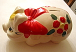 Click here to enlarge image and see more about item pig100108: American Bisque Pig Bank