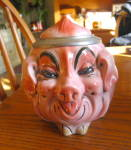Click here to enlarge image and see more about item pigstein030810: Albert Stahl Porcelain Pig Stein