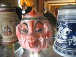 Click to view larger image of Albert Stahl Porcelain Pig Stein (Image3)