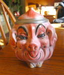 Click to view larger image of Albert Stahl Porcelain Pig Stein (Image7)