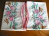 Click to view larger image of Embroidered Roses and Butterflies Pillowcases (Image2)