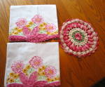 Click to view larger image of Embroidered Vintage Pillow Cases (Image6)