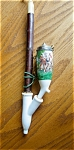 Click here to enlarge image and see more about item pipe40601: Vintage Porcelain Pipe HP