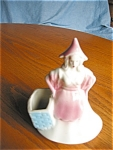 Click here to enlarge image and see more about item plady09091: Vintage Lady Planter Vase