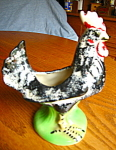 Click here to enlarge image and see more about item planter70807: Vintage Rooster Planter