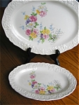 Click here to enlarge image and see more about item platters110529: Edwin Knowles China Melody Platters