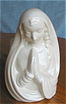Click here to enlarge image and see more about item pmc020339: Brush McCoy Madonna Head Vase
