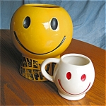 Click to view larger image of Vintage McCoy Mug and Cookie Jar (Image1)