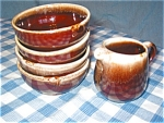 McCoy Creamer and Bowls