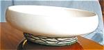 Click to view larger image of Vintage McCoy Pedestal Line Vase (Image1)