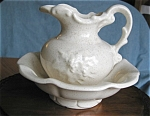 Click here to enlarge image and see more about item pmc1504: McCoy Pitcher and Bowl