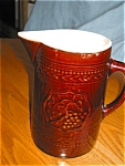 Click to view larger image of Antique McCoy Pottery Pitcher (Image1)