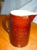 Click to view larger image of Antique McCoy Pottery Pitcher (Image2)
