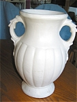 Click here to enlarge image and see more about item pmc4046: Vintage McCoy Pottery Vase Large
