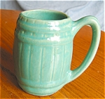 Click here to enlarge image and see more about item pmug06061: Vintage Barrel Mug