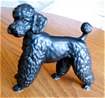 Click here to enlarge image and see more about item poodle10520: Poodle Figurine