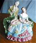 Click here to enlarge image and see more about item porc90427: Vintage Capodimonte? Figurine