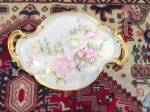 Click to view larger image of Large Vintage Porcelain Tray  (Image3)