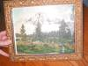 Click to view larger image of Antique Hand Tinted Teton's Print (Image4)