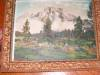Click to view larger image of Antique Hand Tinted Teton's Print (Image5)