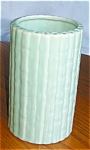 Click here to enlarge image and see more about item pshaw02032: Vintage Shawnee Pottery Bamboo Vase