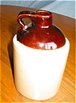 Click to view larger image of Vintage USA Stoneware Jug (Image1)