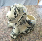 Click to view larger image of Puppy Pottery Planter Vintage (Image2)