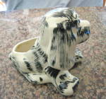 Click to view larger image of Puppy Pottery Planter Vintage (Image6)