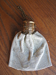 Click here to enlarge image and see more about item purse1081: Vintage Whiting & Davis Mesh Purse