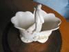 Click to view larger image of Vintage Weller Delsa Basket Vase (Image3)