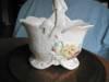 Click to view larger image of Vintage Weller Delsa Basket Vase (Image4)