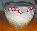 Click here to enlarge image and see more about item pwel06061: Weller Pottery Thistle Jardiniere