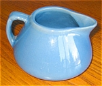 Click here to enlarge image and see more about item pyel02033: Morton Yellow Ware Creamer