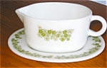 Click here to enlarge image and see more about item pyr03033: Pyrex Gravy Boat