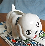 Click to view larger image of Zanesville Stoneware Puppy Planter (Image1)