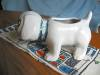 Click to view larger image of Zanesville Stoneware Puppy Planter (Image6)