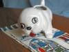 Click to view larger image of Zanesville Stoneware Puppy Planter (Image7)
