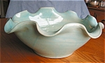 Click here to enlarge image and see more about item pzanes1504: Zanesville Centerpiece Vase Large