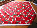 Click here to enlarge image and see more about item quilt010511: Small Quilt