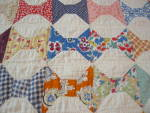 Click to view larger image of Vintage Bowtie Quilt (Image3)