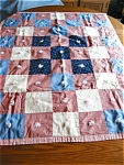 Click here to enlarge image and see more about item quilt10521: Small Quilt