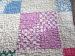 Click to view larger image of Signed Dated Vintage Quilt (Image2)