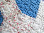 Click to view larger image of Signed Dated Vintage Quilt (Image6)