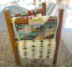 Click to view larger image of Miniature Quilts and Rack (Image7)