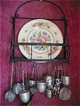 Click here to enlarge image and see more about item rack10512: Vintage Cast Iron Rack