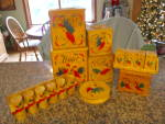 Vintage Red Rooster Kitchenware