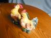 Click to view larger image of Rooster and Hen Vintage Figurines (Image6)