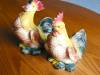 Click to view larger image of Rooster and Hen Vintage Figurines (Image7)